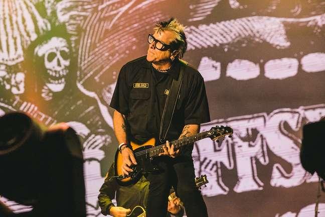 Com um som envolvente, The Offspring foi um dos grandes destaques da noite