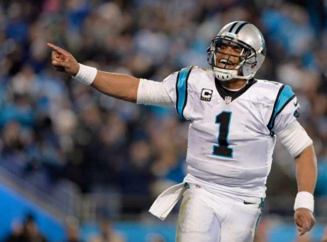 Cam Newton é um dos destaques da NFL (Foto: Grant Halverson/Getty Images/AFP)