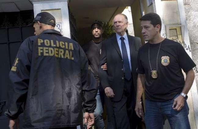 Nuzman foi detido na manhã desta quinta-feira (Foto: MAURO PIMENTEL / AFP)