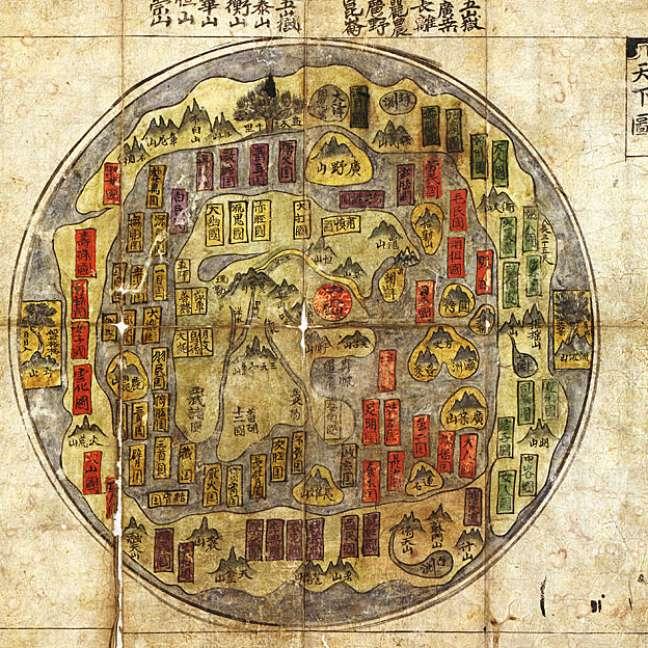 Mapa tradicional coreano
