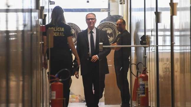 Na fase anterior da operação, Nuzman tinha sido levado para depor