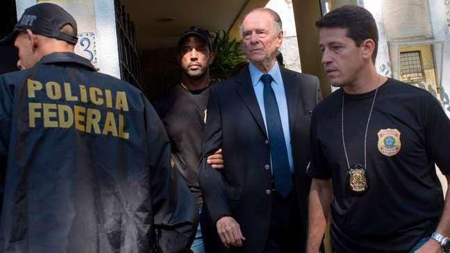 Nuzman novamente acordou com a PF à sua porta - desta vez, porém, acabou preso