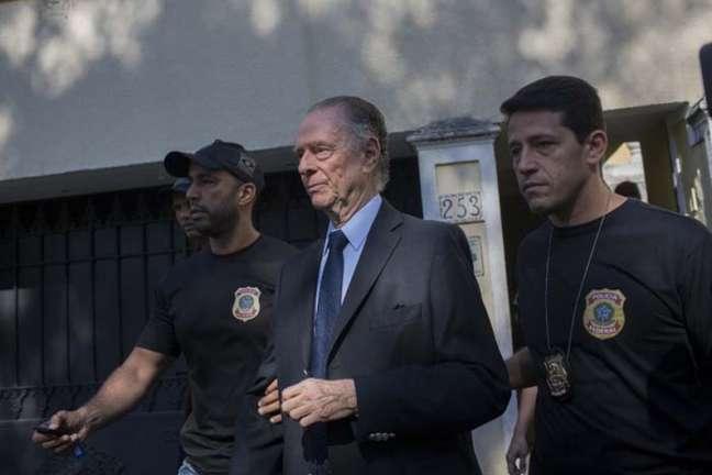 Nuzman é suspeito de participar de esquema de compra de votos na Rio-2016 (Foto: MAURO PIMENTEL / AFP)