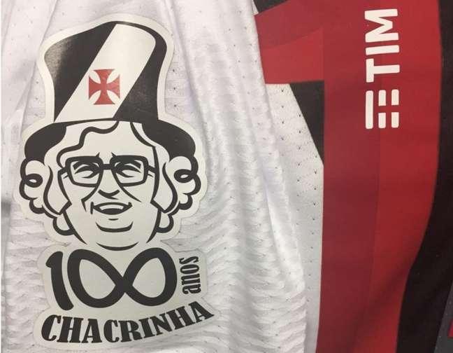 Camisa do Vasco terá logo em homenagem a Chacrinha, que era torcedor do clube (Foto: Divulgação)
