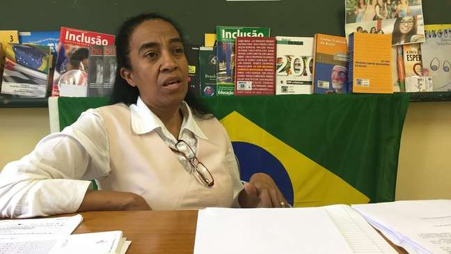 'A mediação tem que deixar um marco dentro da escola. E o maior marco dentro da escola é a abertura de diálogo', diz Nailza Fernandes Veiga