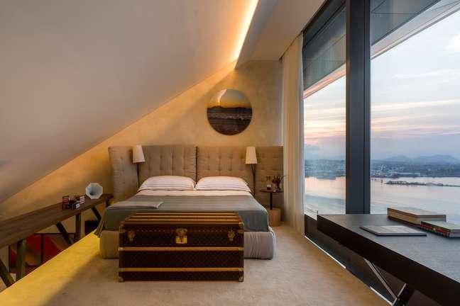 Loft projetado por por André Piva e Vanessa Borges. Tudo da casa moysés/Mmartan.
