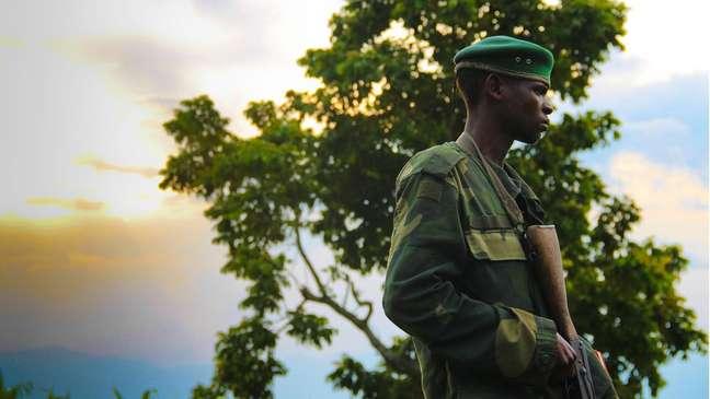 Soldado congolês
