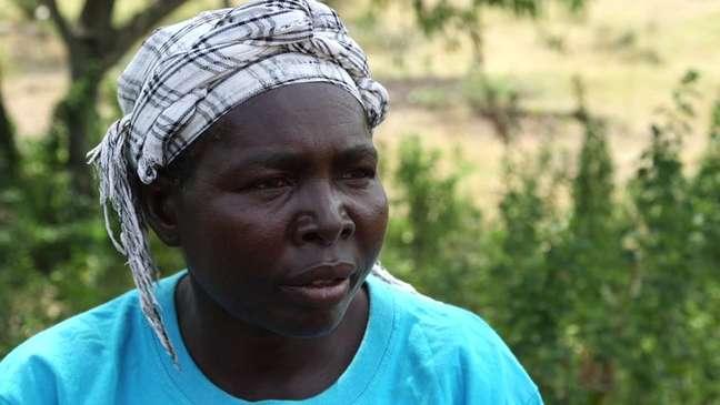Pamela foi infectada pelo vírus da Aids durante ritual