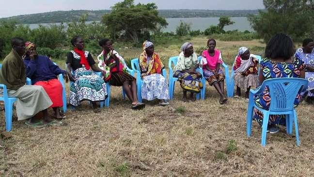 'Em um grupo como esse, podemos nos apoiar mutuamente', afirma Pamela