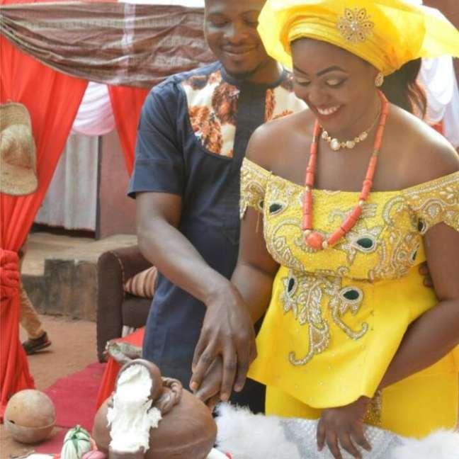 O casamento aconteceu dia 6 de janeiro | Foto: Chidimma Amedu