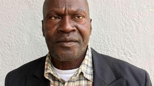 Ousman Sowe e outros sobreviventes querem que Yahya Jammeh vá a julgamento   Foto: Colin Freeman