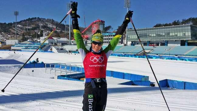 Jaqueline Mourão, de 42 anos, disputará sua sexta edição dos Jogos Olímpicos, a quarta em eventos de inverno.