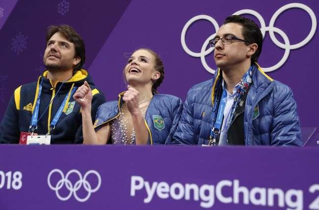 Isadora Williams classifica para próxima fase de patinação artística. (Foto: Reprodução)