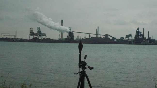 Especialistas têm usado equipamentos para tentar medir o ruído   Foto: Universidade de Windsor