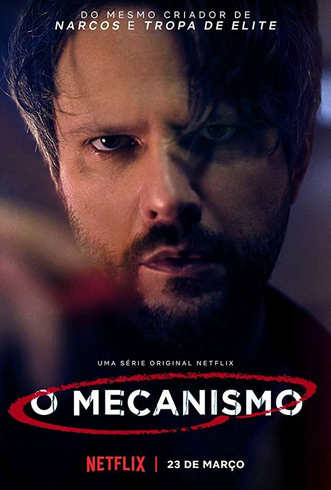 Cartaz da série 'O Mecanismo'