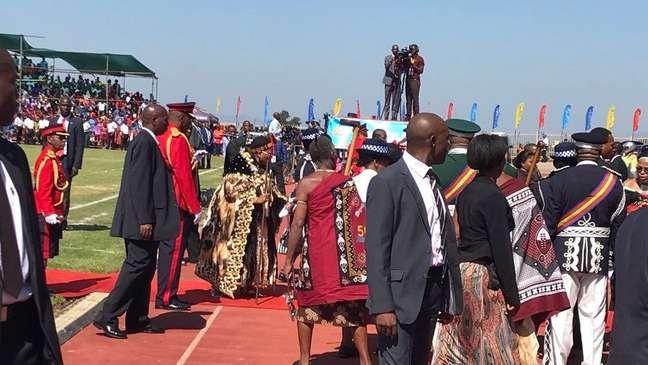 O nome foi anunciado durante as comemorações dos 50 anos de independência do país