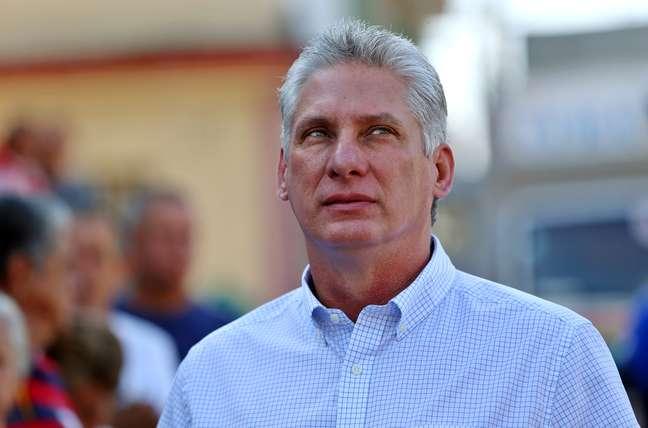 Novo presidente de Cuba, Miguel Díaz-Canel 11/03/2018 REUTERS/Alejandro Ernesto/Pool