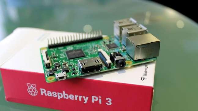 Raspberry Pi 3, uma das plataformasrecomendadas para o Android Things