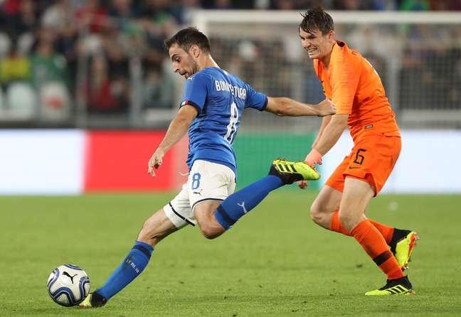 Itália e Holanda empataram em 1 a 1