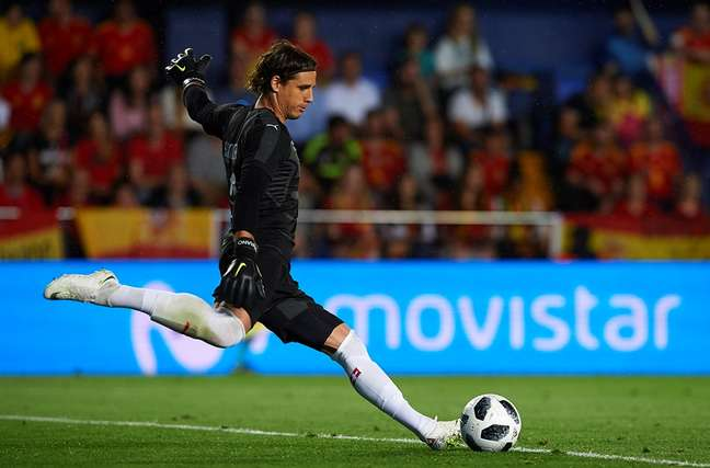 Goleiro da Suíça enfrenta a Seleção Brasileira no domingo