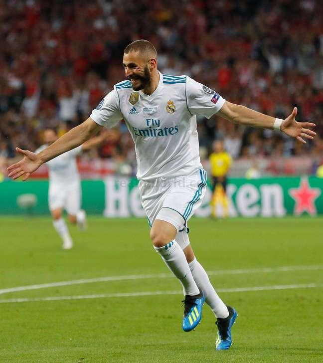 Benzema fez gol na final da Liga dos Campeões
