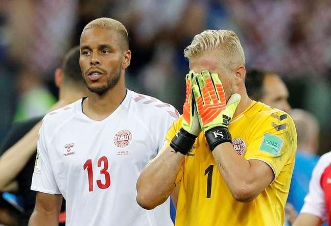 Schmeichel e Jorgensen lamentam eliminação na Copa