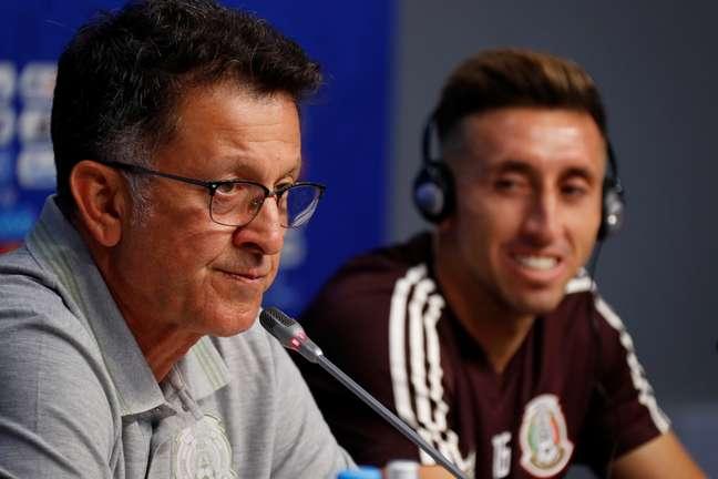 O técnico do México, Juan Carlos Osorio