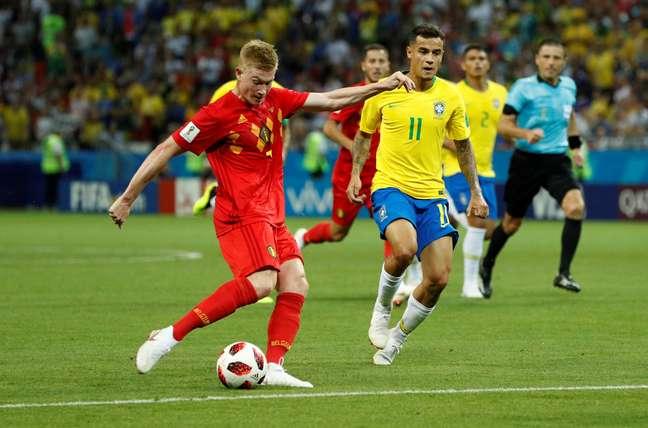 De Bruyne chuta e marca mais um para a Bélgica: 2 a 0 em Kazan