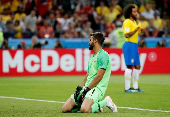 Goleiro lamentou gol de bola parada