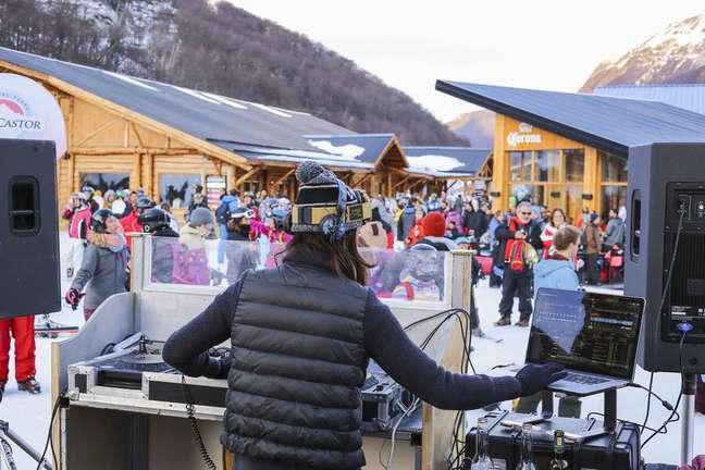 Pela segunda vez, Cerro Castor terá festa comandada por DJs brasileiras