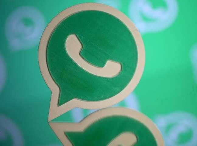 Logo do WhatsApp em impressão 3D em foto ilustrativa 14/09/2017 REUTERS/Dado Ruvic