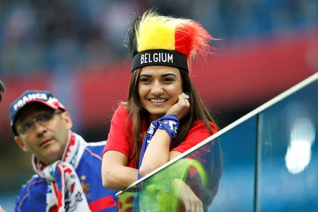 Os belgas foram os últimos algozes da Seleção brasileira numa Copa do Mundo, a de 2018 10/07/2018  REUTERS/Lee Smith