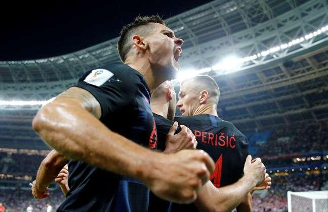 Jogadores da Croácia comemoram  11/7/2018     REUTERS/Darren Staples