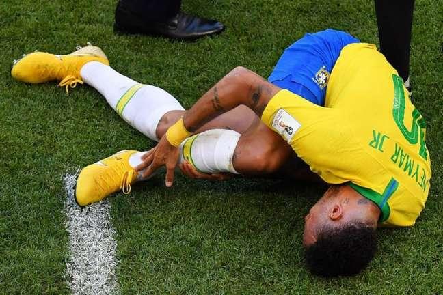 Neymar é mais uma vez alvo de provocações (Foto: Divulgação)