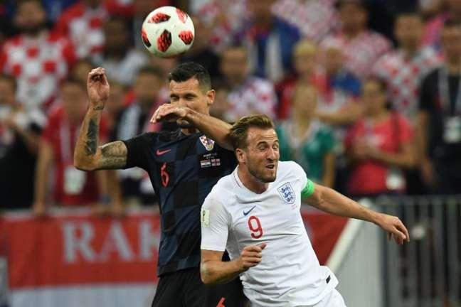Kane não foi bem contra a Croácia (Foto: AFP)
