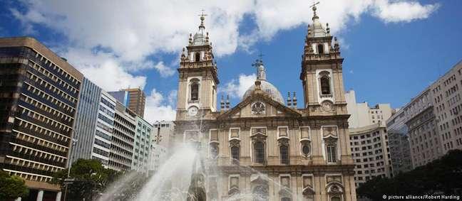 Igreja da Candelária, no centro do Rio de Janeiro: palco de uma tragédia que chocou o mundo