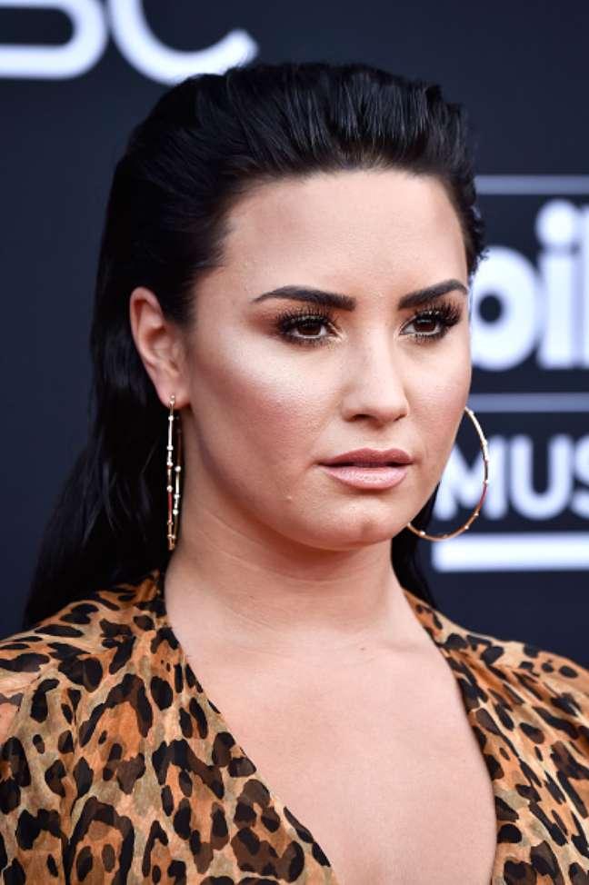Demi Lovato admitiu no último mês que não estava mais sóbria