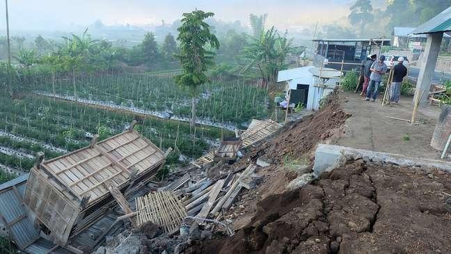 O terremoto que atingiu a ilha de Lombok, na Indonésia, deixou 14 mortos e mais de 150 feridos