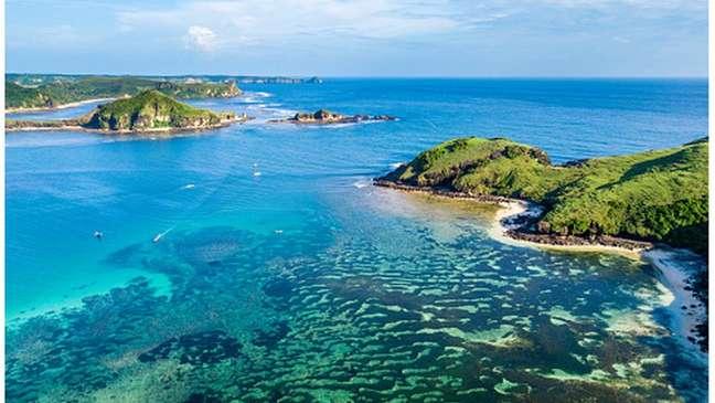 A ilha de Lombok é um dos principais destinos turísticos da Indonésia