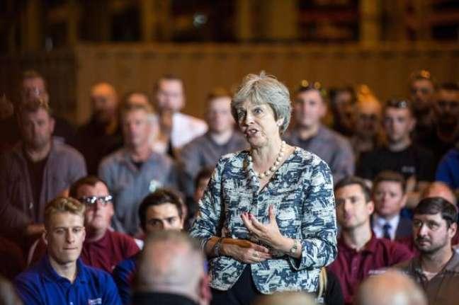 """O governo de Theresa May afirmou que """"sob nenhuma circunstância"""" será realizado um novo plebiscito."""