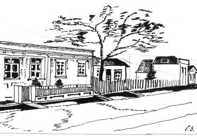 O local da tragédia (a primeira casa à esquerda)