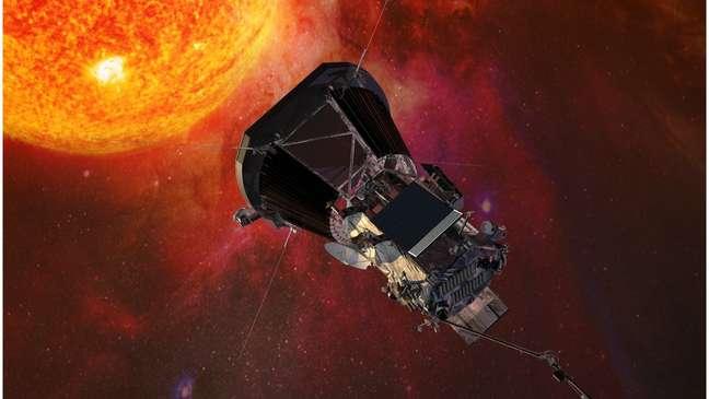 """A nave Parker Solar Probe (PSP) será o primeiro objeto construído por um ser humano a """"tocar"""" no Sol"""