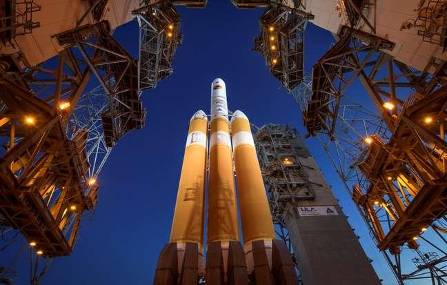 Sistema de foguetes que lançou a sonda