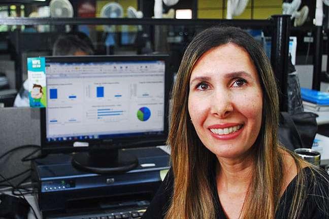 Débora Morales explica como funciona a Indústria 4.0