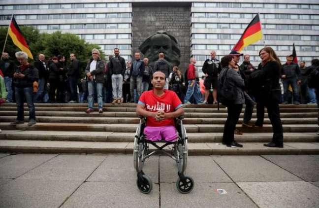 frontos em Chemnitz, na Alemanha, deixam 9 feridos