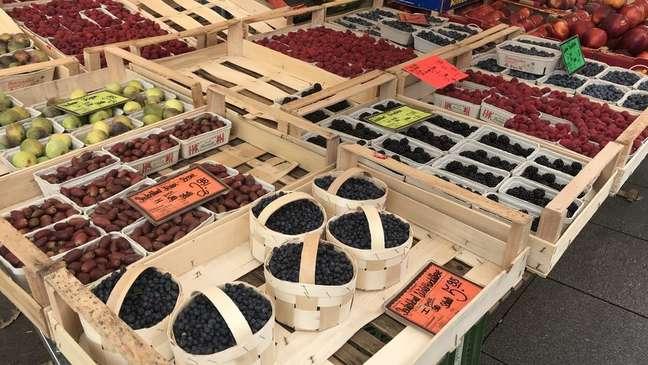 Dieta mediterrânea consiste no consumo de produtos frescos, de acordo com a estação do ano