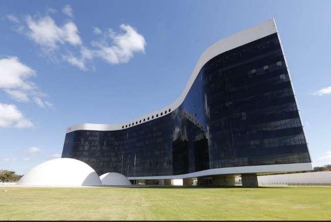 Fachada do prédio do Tribunal Superior Eleitoral (TSE), em Brasília