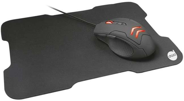 Combo Mouse e Mouse Pad Striker