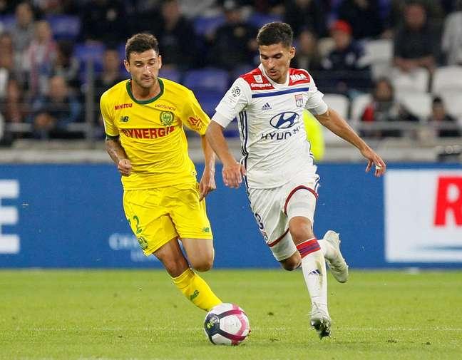 Nantes e Lyon empataram em 1 a 1