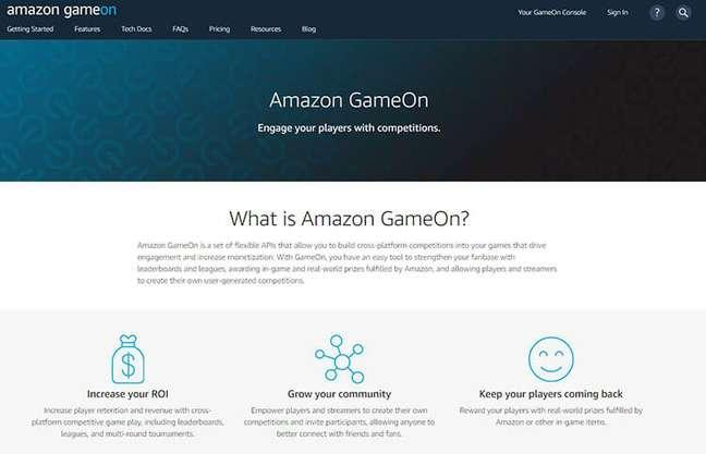 Plataforma da Amazon
